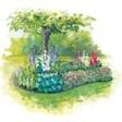 Гостевой дом - иконка «сад» в Орде